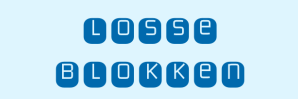Losse blokken logo